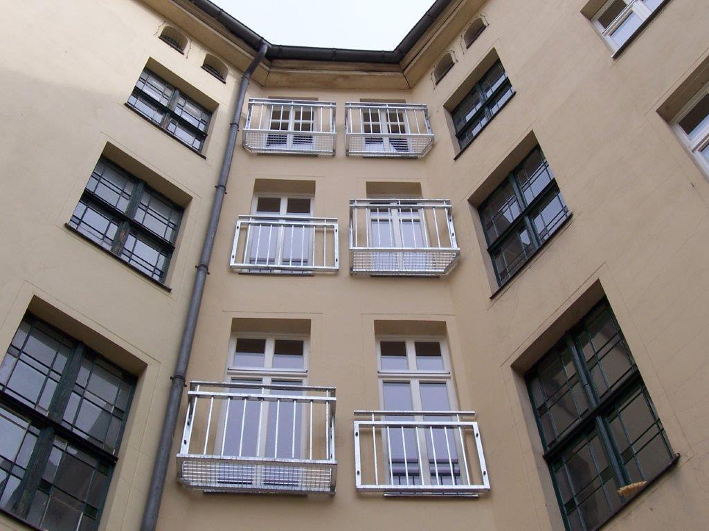 Französischer Balkon Berlin-Kreuzberg Stahl feuerverzinkt