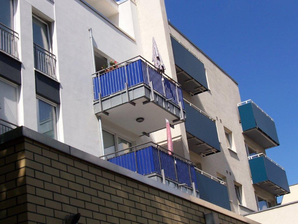 Balkongeländer modern und hochwertig Stahlbau Berlin