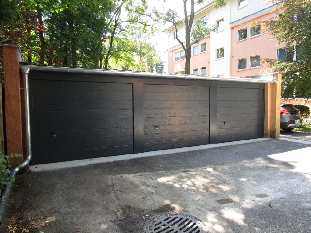 Garagentor Sektonaltor Blechverkleidung Berlin- Lichterfelde