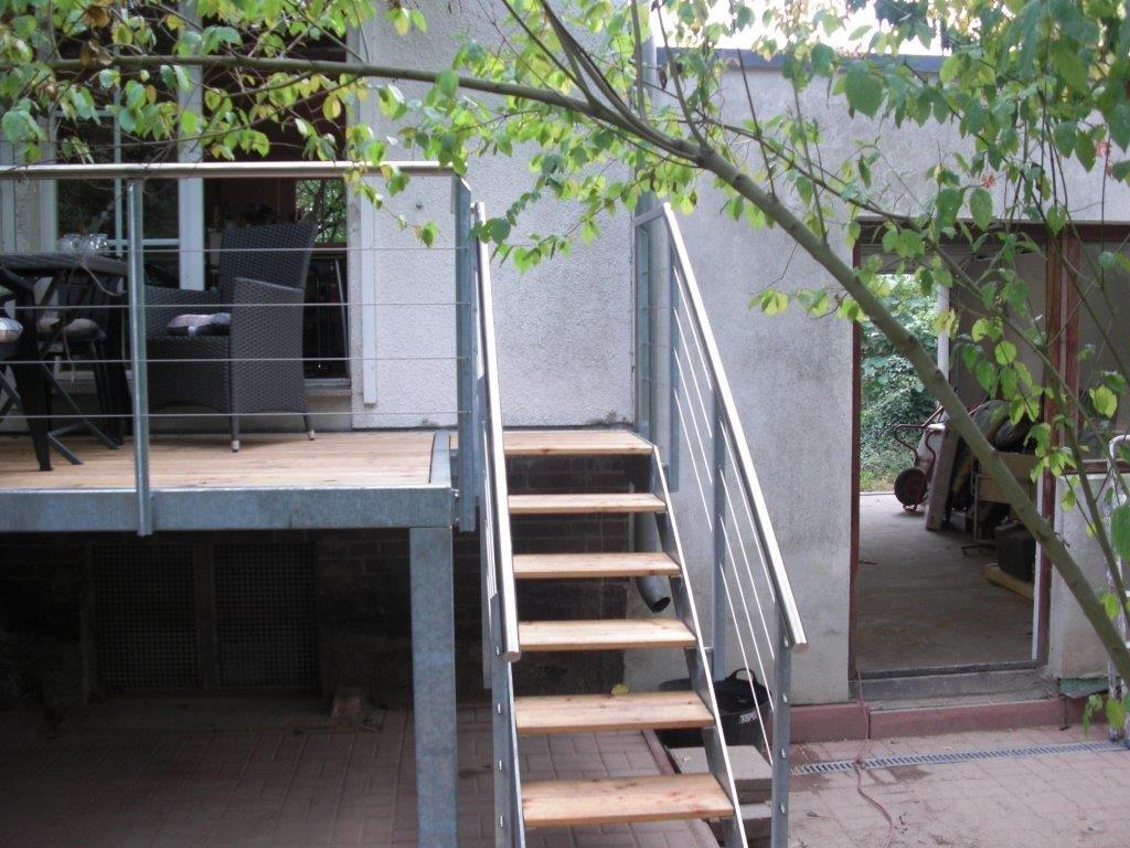 Garten Terrasse Holzdielen