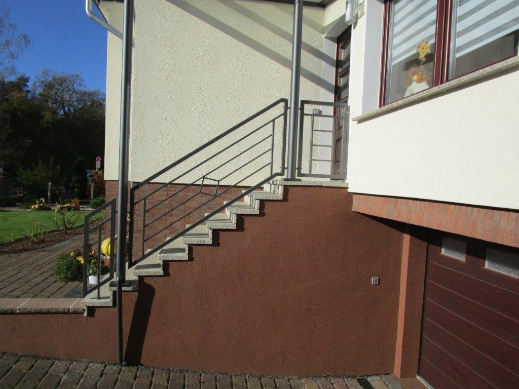 Treppengeländer modern, pulverbeschichtet, Brandenburg